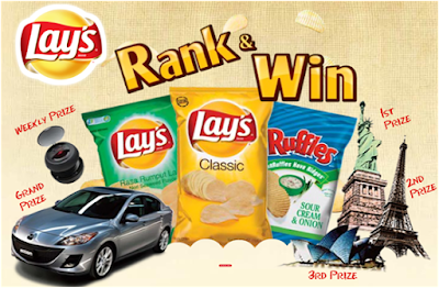 Lay's 'Rank & Win' Contest