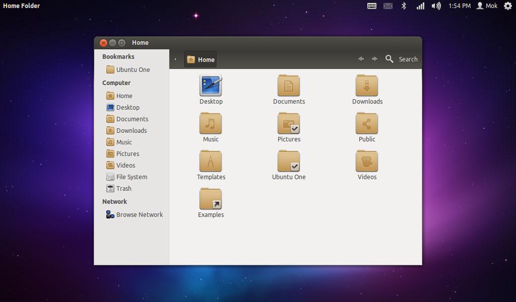 Ubuntu Ambiance Theme