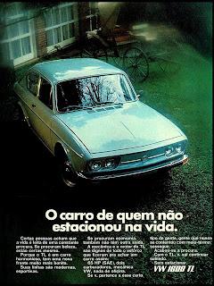 propaganda Volkswagen TL - 1971
