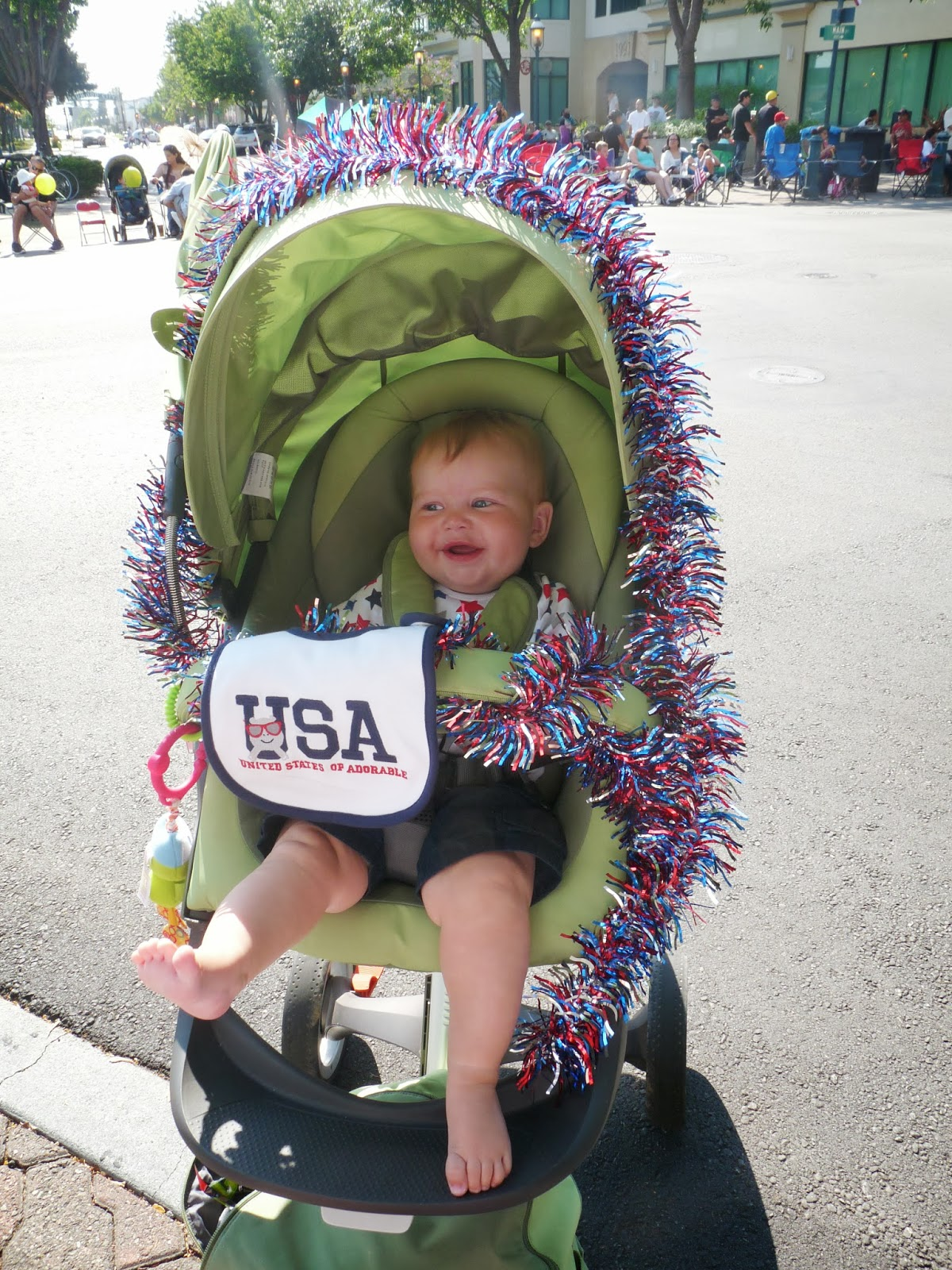 Freddie at the 4th July Parade