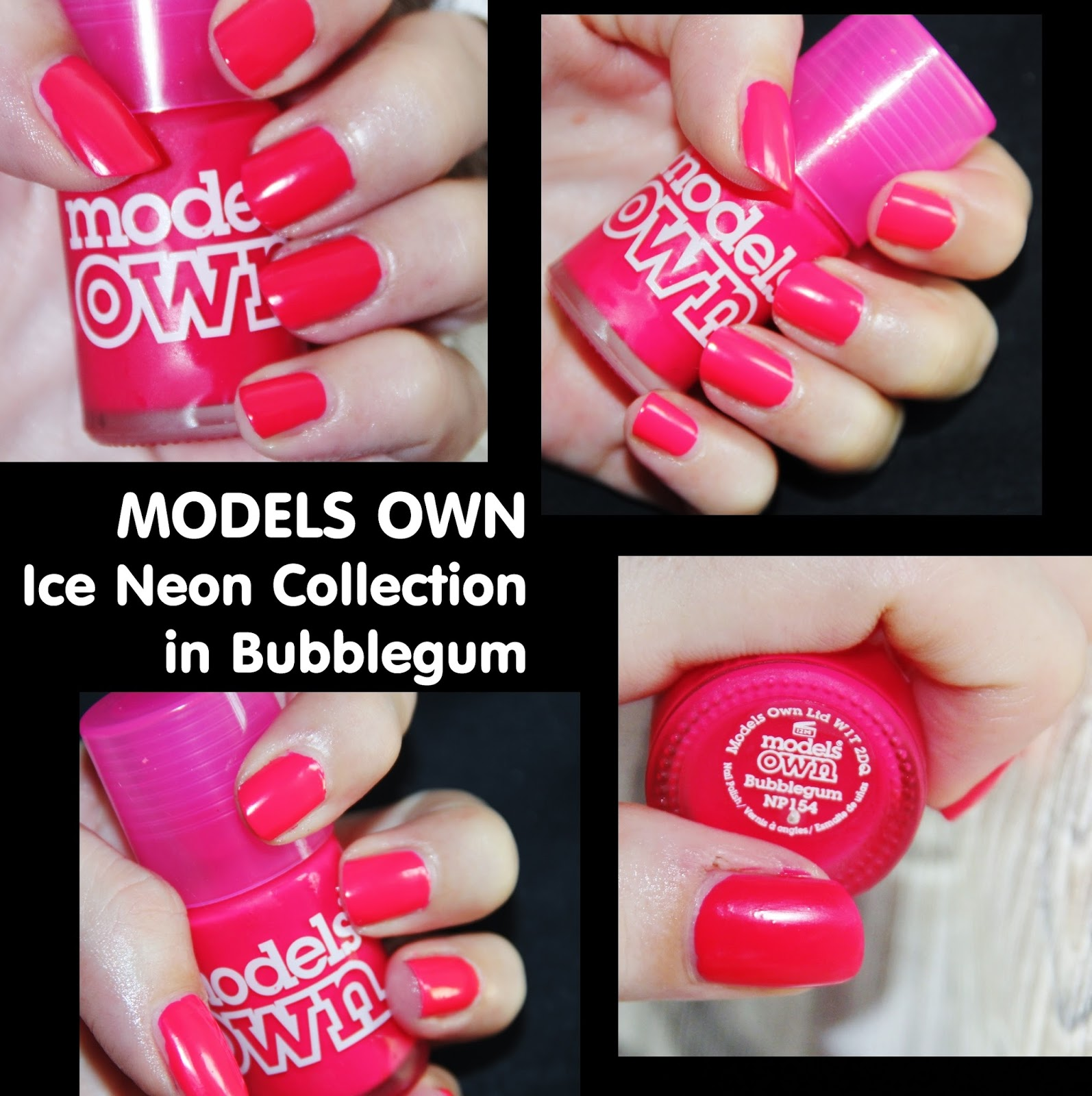 MichelaIsMyName: NOTD // MODELS OWN Ice Neon Collection in Bubblegum