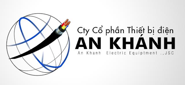logo công ty thiết bị điện An Khánh