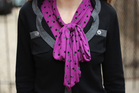 StyleSidebar - Bright Plum with Black &amp; Gray