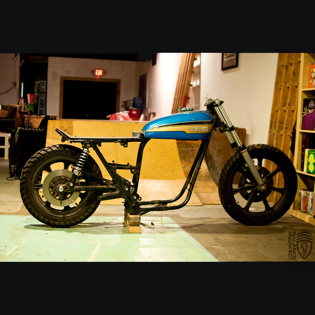 Bmw Xs: Counter Balance Motorcycles: 1973 Xs 650 Dirt Tracker