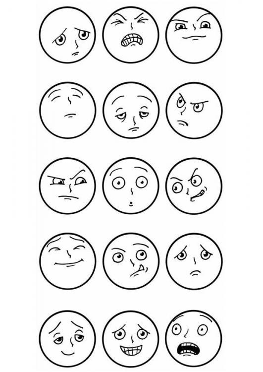 Blog de Sexto. Curso 2012/2013: Plástica: Expresiones gestuales