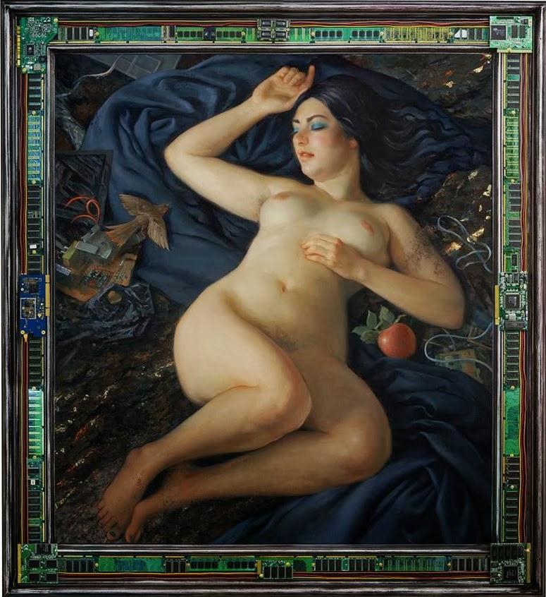 Venus awakes (Patricia Watwood, 2011)