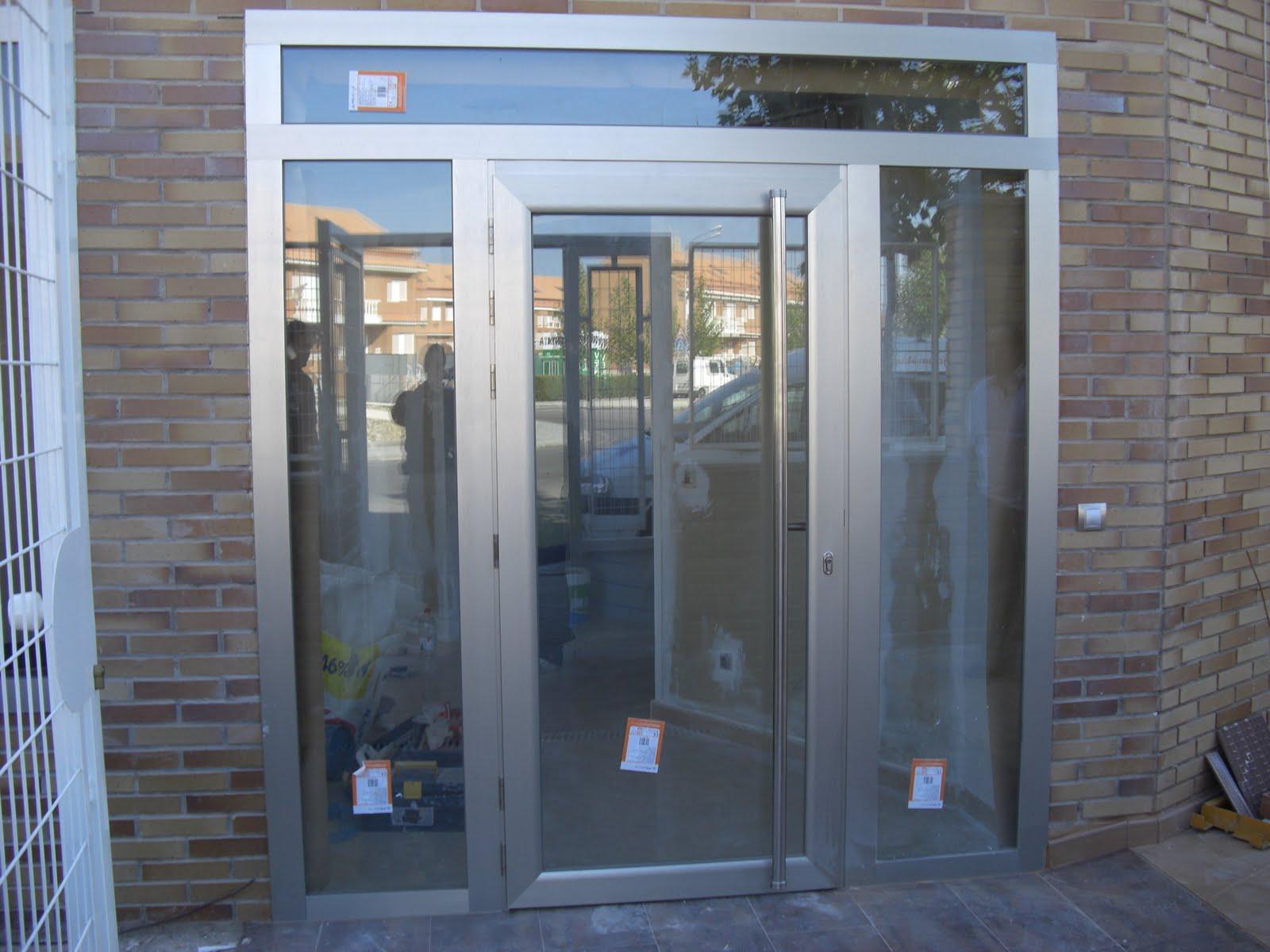 Aluminio y pvc en aranjuez y alrededores alumifrank for Puertas de aluminio a medida