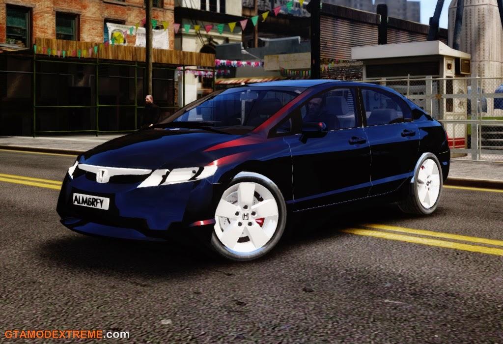 Baixar carro Honda New Civic 2007 Para GTA IV