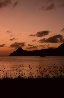 View to Pigeon Island gros islet