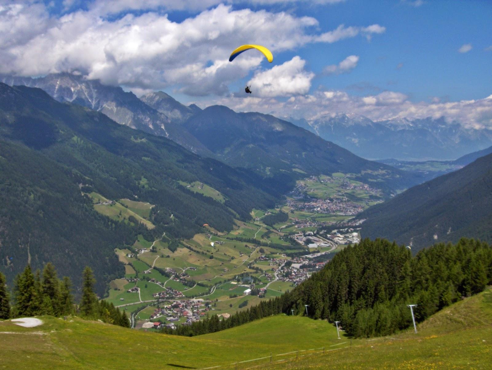 Flying high in Austrian Alps