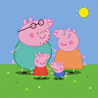 Świnka Peppa – antropomorficzna świnka – najlepsza przyjaciółka najmłodszych
