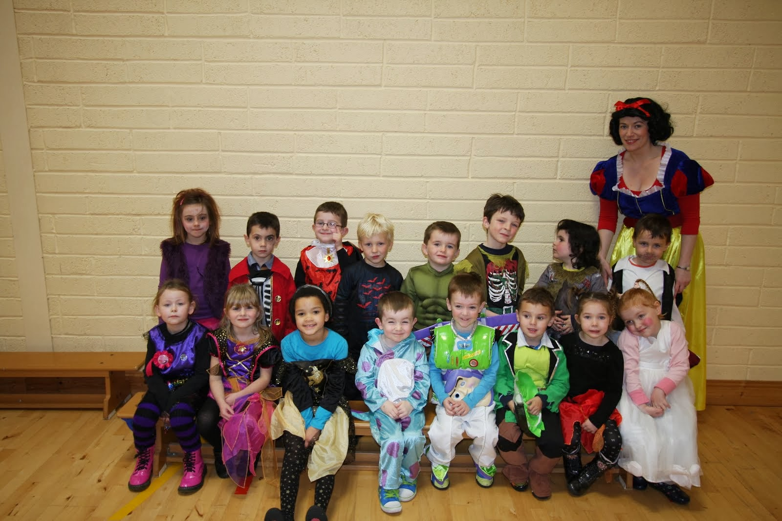 Junior Infants Halloween 2013
