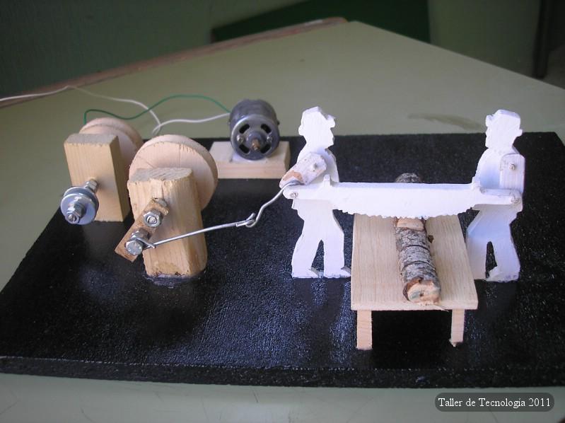 Proyectos de tecnolog a los le adores for Mecanismos de estores caseros