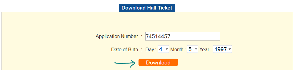 download ecet hall ticket or admit card
