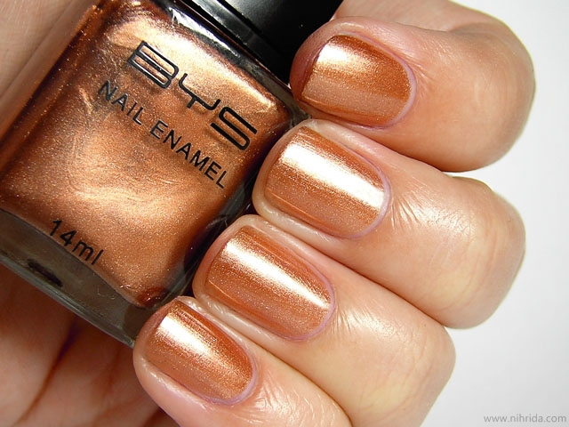 BYS Nail Polish in Sahara Sands