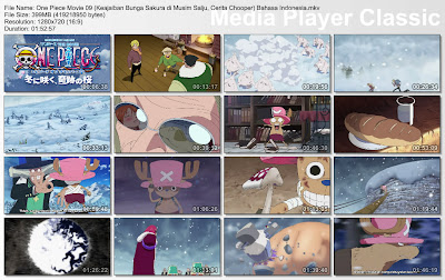 Download Film One Piece The Movie 09 (Keajaiban Bunga Sakura di Musim Salju, Cerita Chooper) Bahasa Indonesia