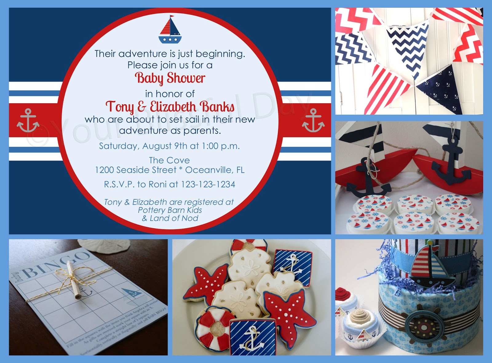 displaying 19 images for nautical themed baby shower games