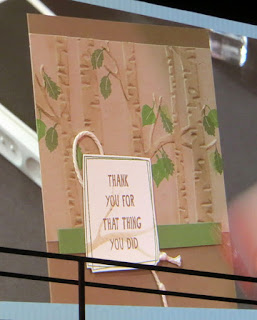 Stampin' Up! Among the Branches Card shared at Convention 2015 #stampinup www.juliedavison.com