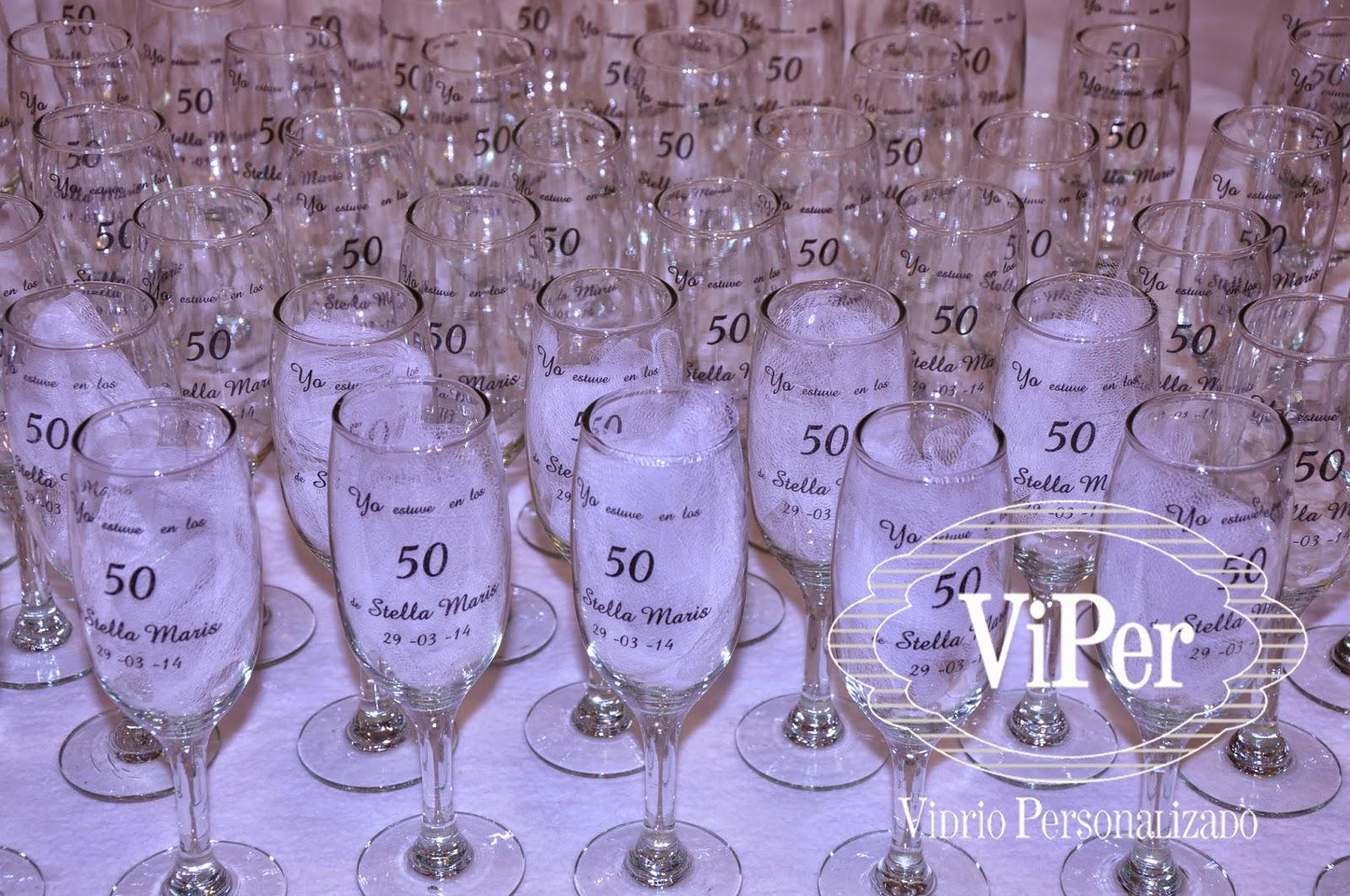 vidrio personalizado y decorado vasos originales copas