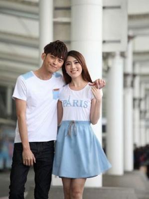 Jual Stelan Denim Paris Couple Online Murah di Jakarta Lengan Pendek Trendy