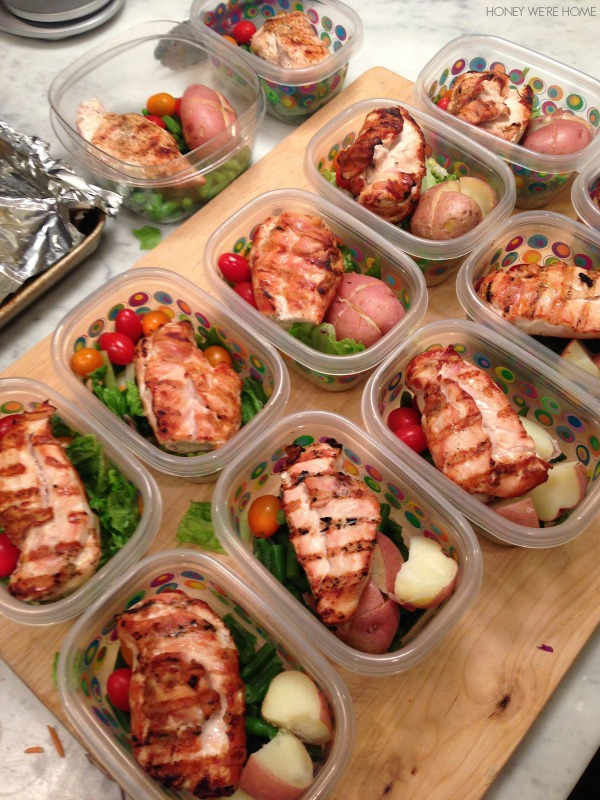 Honey we 39 re home quick easy contest meal prep for Cuisine to go