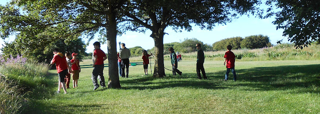 5th portsmouth scouts on milton common reclaimed land