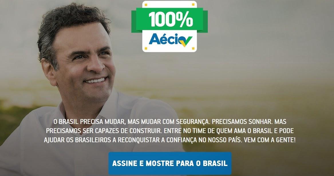 100% AÉCIO NEVES