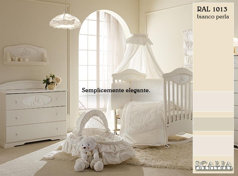 Scalia forniture pareti semplicemente eleganti con la for Pareti bianco perla