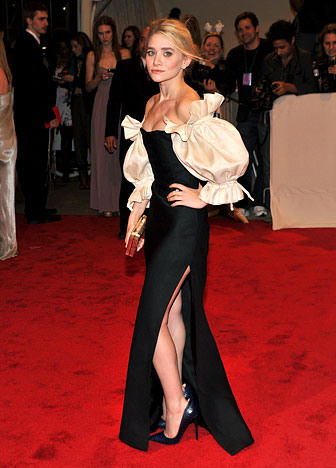 Ashley Olsen at the 2013 Costume Institute Gala  149562