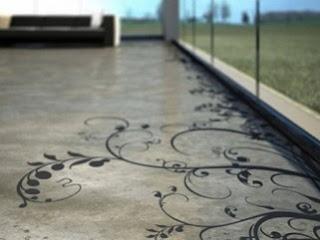 beton padló