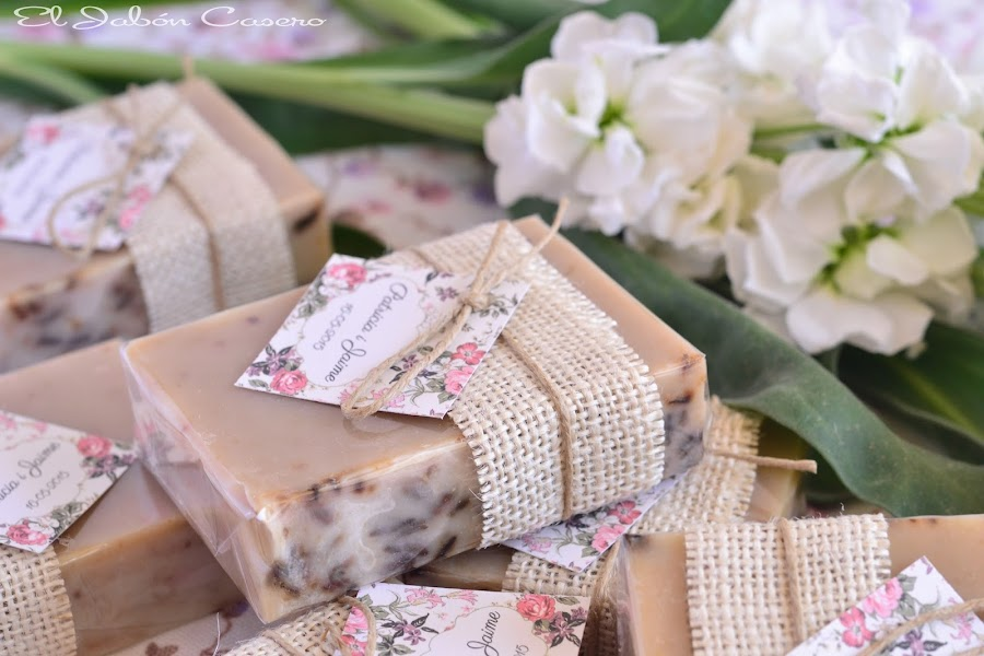 detalles boda jabones de lavanda