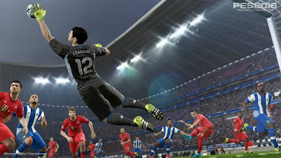 Gameplay Patch untuk PES 2016 update Oktober 2015