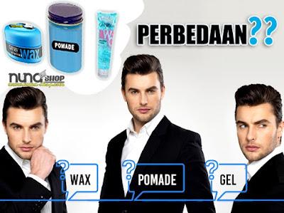 Perbedaan Pomade, Wax dan Gatsby Water Gloss Gel Hard-Blue
