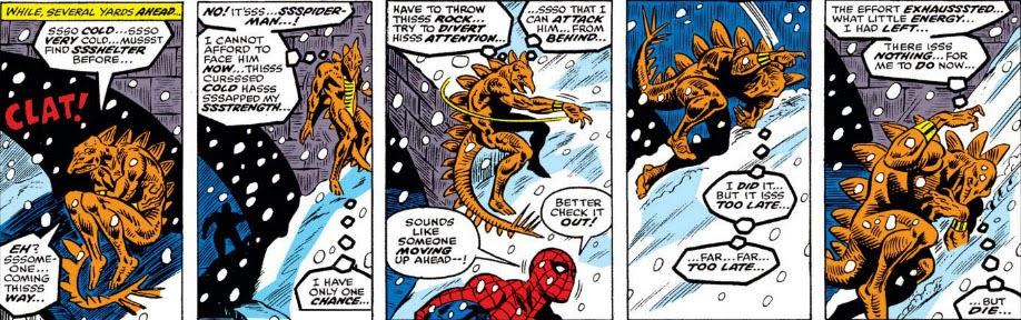 Image result for stegron spiderman