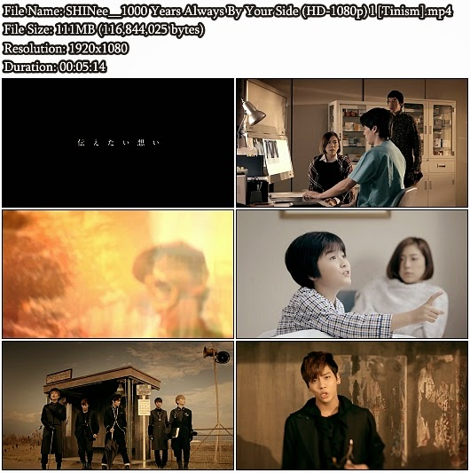 Download PV SHINee - 1000 Years Always By Your Side (1000年、ずっとそばにいて・・・) (Full HD 1080p)