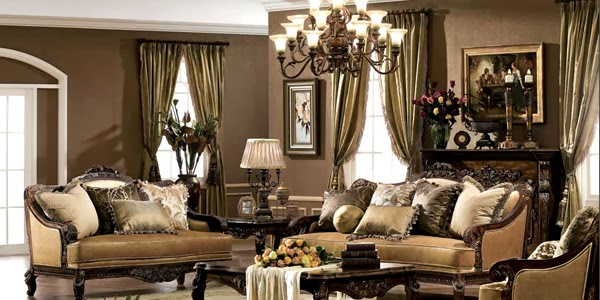 Glamorous Drawing Room Interior Design