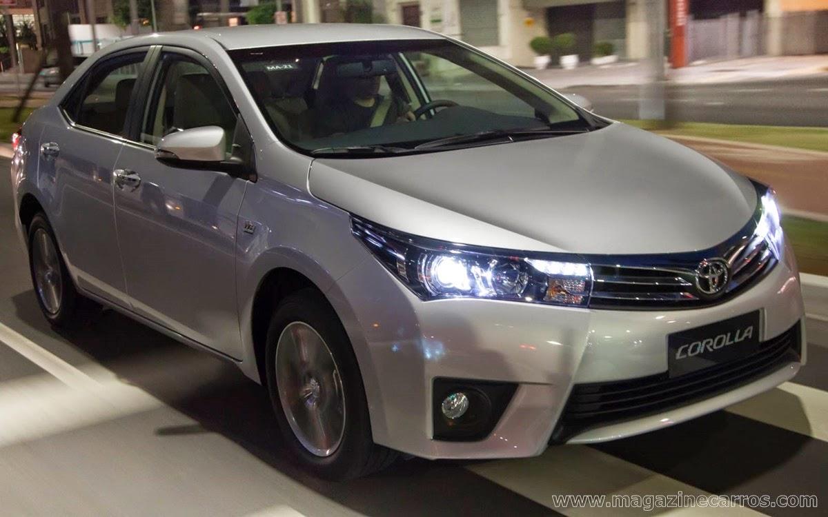 Corolla Altis 2.0 CVT 2015 - Foi lançado pela Toyotta do Brasil, o novo Corolla Altis 2015, o modelo agora chega todo reestilizado e com muito conforto e segurança
