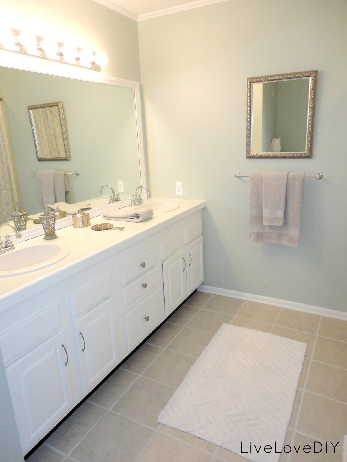 LiveLoveDIY: Bathroom Ideas: How To Right A Wrong