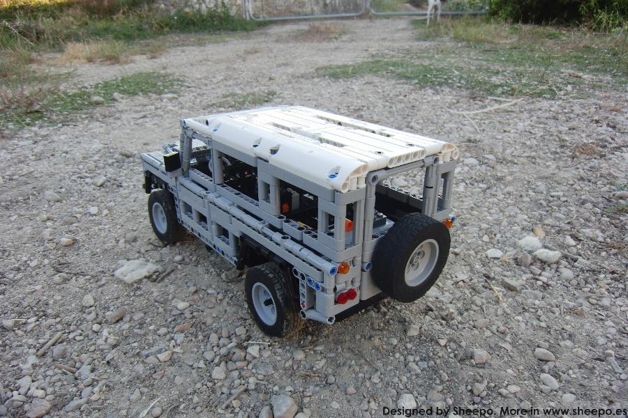 lego land rover defender 90 instructions