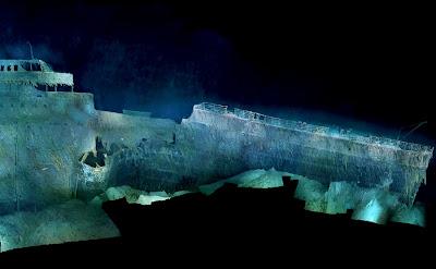 como se ve el titanic hoy hundido 2012