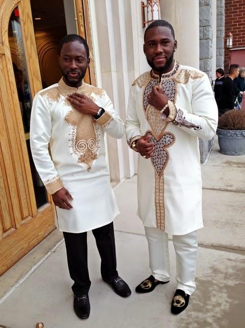 Go-Fashion: Men's African Design wear