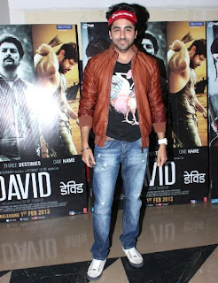 Shilpa, Abhishek, Jacqueline at David movie premiere red carpet