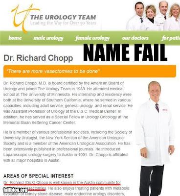 Dr. Dick Chopp