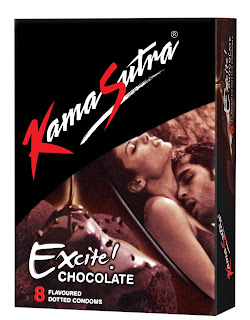 Kamasutra Chocolate Flavoured Condoms