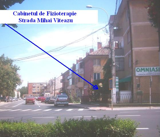 Cabinet de Fizioterapie - Strada Mihai Viteazu
