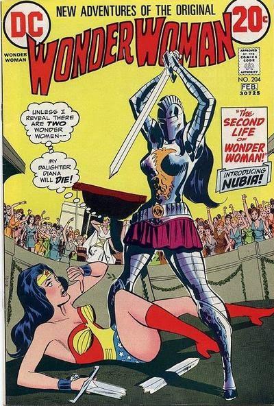 Wonder Woman #204, Nubia