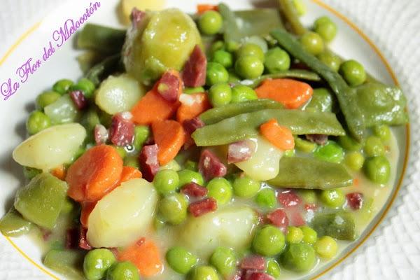 Alcachofas de tudela cocinar en casa es - Hacer menestra de verduras ...