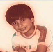 Shahid kapoor childhood