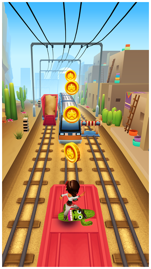 Subway Surfers Android Apk Oyun resimi 3
