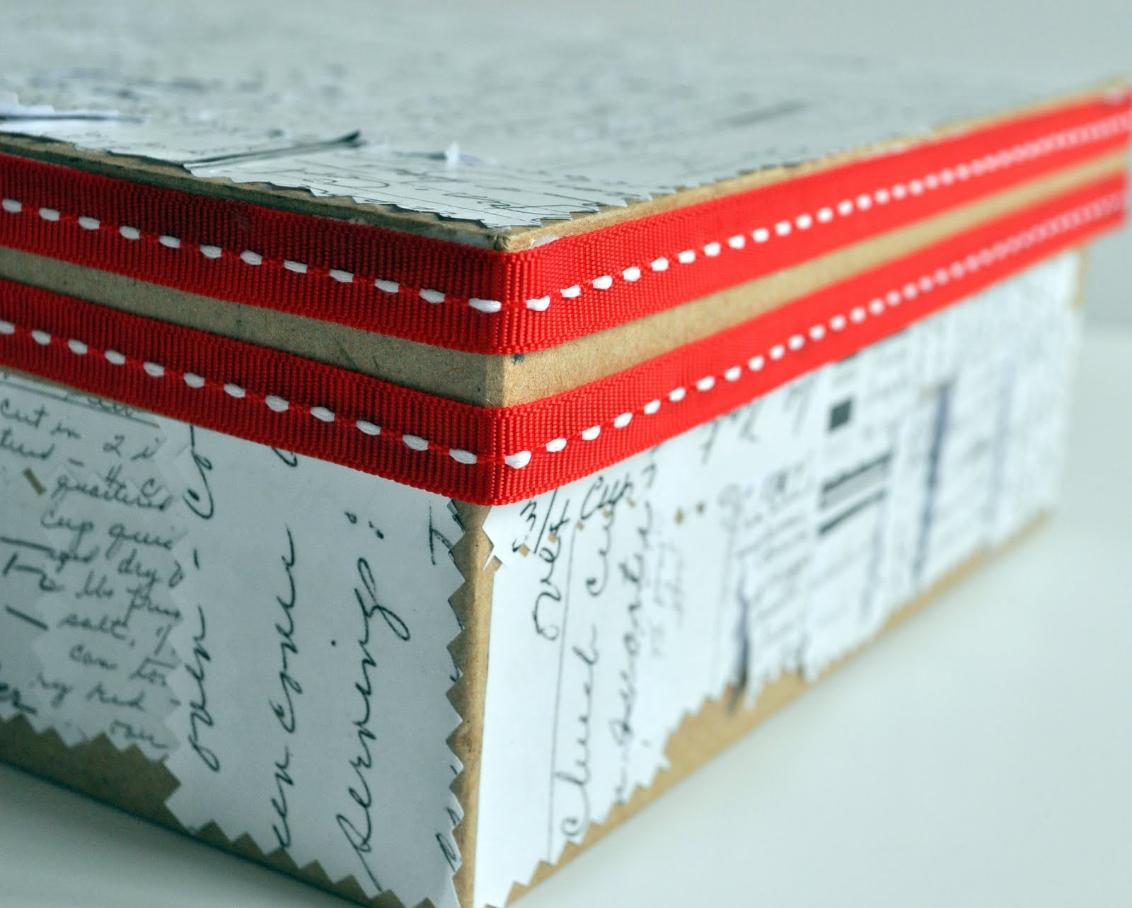 sentimental recipe box cleverly inspired